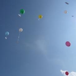 Luftballone... da sind wir voll dabei!