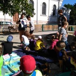 Ferienkinder als SchriftstellerInnen.... tolle Workshops